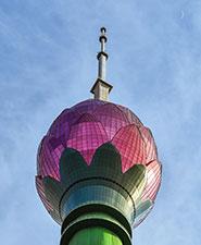 Lotus Tower - SLT's gigantic technological achievement.